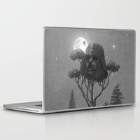 dark side Laptop & iPad Skins featuring Dark Side of The Forest  by Terry Fan