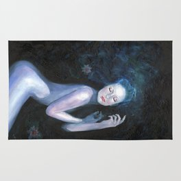 Waterlily Girl Rug