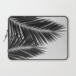 Palm Leaf Black & White II Laptop Sleeve