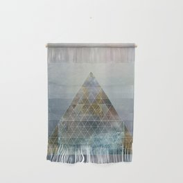 Perseid - Contemporary Geometric Pyramid Wall Hanging