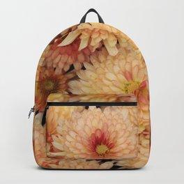 Orange/Red Mums Backpack