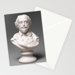 Vintage William Shakespeare Sculpture Photograph (1870) Stationery Cards