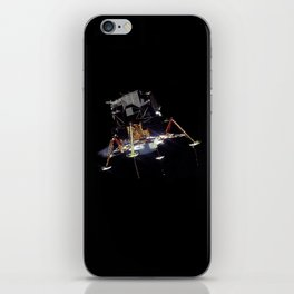Eagle In Lunar Orbit  iPhone Skin