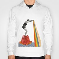 jelly fish Hoodies featuring Jelly by Happy Red Fish Art