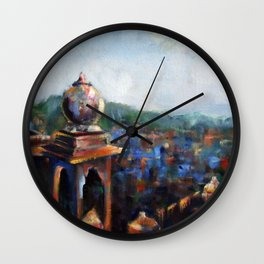 View of Jodhpur Wall Clock
