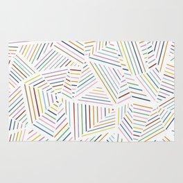 Ab Linear Rainbowz Rug