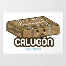 Calugón Art Print