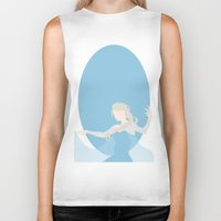elsa Biker Tanks featuring Elsa by Polvo
