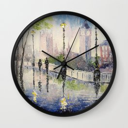 A walk in London Wall Clock