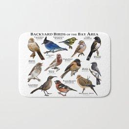 Backyard Bird of the Bay Area Bath Mat