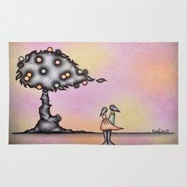 Dark Lovers By The Dark Tree Rug