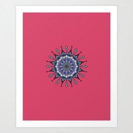Lavish Flower 06 Art Print