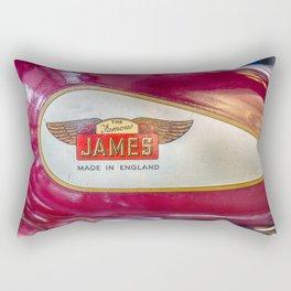 The Famous James Rectangular Pillow