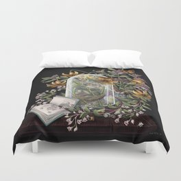 Atlantic Seaside Still Life Duvet Cover