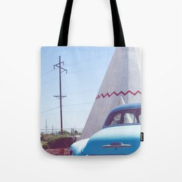 Sleep at the Wigwam, No. 2 Tote Bag