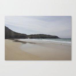 Beach 2 Lewis and Harris 1 Canvas Print