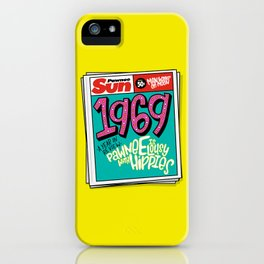 Lousy With Hippies (PAR102) iPhone Case