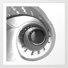 Escalera de caracol (Spiral staircase)  Art Print