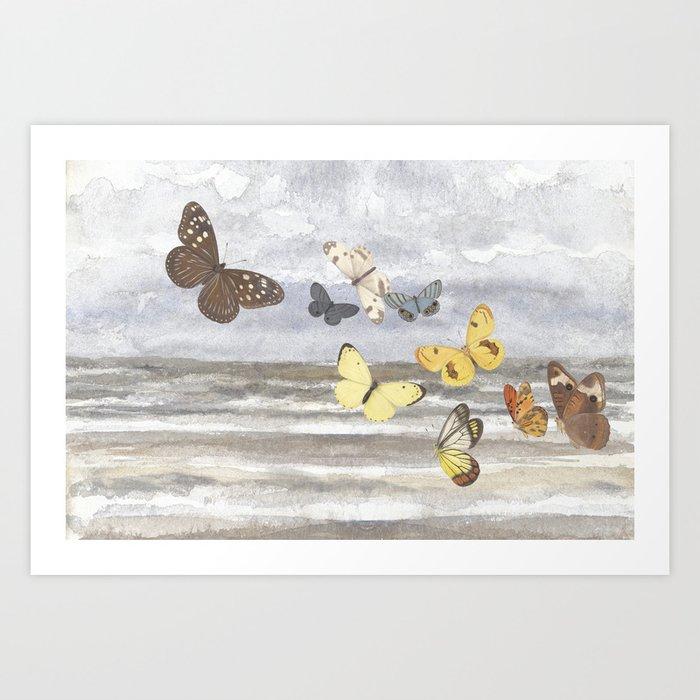 Butterfly escape Kunstdrucke