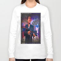 scarface Long Sleeve T-shirts featuring scarface by Vector Art