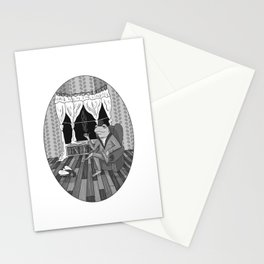 """Now, Play dead."" Stationery Cards"