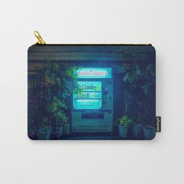 Japanese Vending Machine In The Midnight Rain Carry-All Pouch