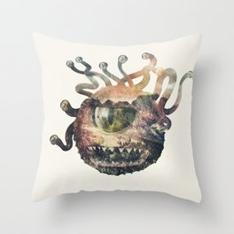Beholder Throw Pillow