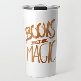 Books are Magic Travel Mug