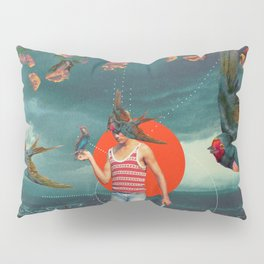 The Boy and the Birds Pillow Sham