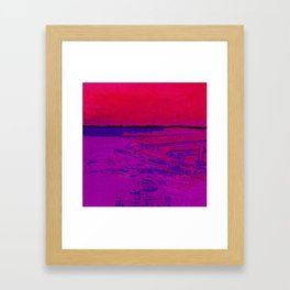 Square Abstract No. 8D by Kathy Morton Stanion Framed Art Print