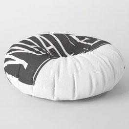 Whatever Flag Floor Pillow