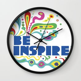 Be Inspired Wall Clock