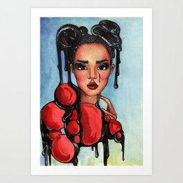 evelin Art Print