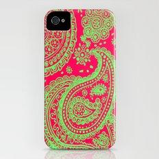 Paisley 4 iPhone (4, 4s) Slim Case
