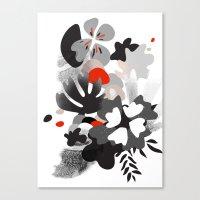 scandinavian Canvas Prints featuring scandinavian nature by Lucja