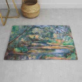 The Brook by Paul Cézanne Rug
