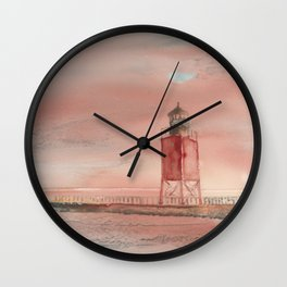 Charlevoix South Pierhead Wall Clock
