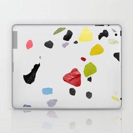 painted terrazzo 1 Laptop & iPad Skin