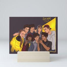 SKAM - all the isaks Mini Art Print