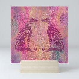 A Greyhound for All Seasons - Autumn Mini Art Print