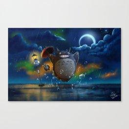 Studio Ghibli: My Neighbour Totoros Canvas Print