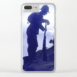 Memorials Clear iPhone Case