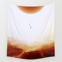 mars Wall Tapestries featuring Mars Diving by Stoian Hitrov - Sto