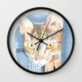 Tiny the Cat Wall Clock