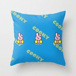 BTS Jungkook BT21 Cooky Throw Pillow