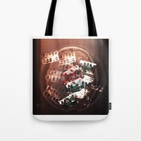 pills Tote Bags featuring Pills by Emmi Eriksson