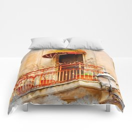 Trapani art 14 Sicily Comforters