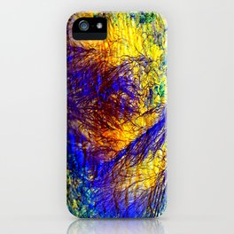 abstract kk iPhone Case