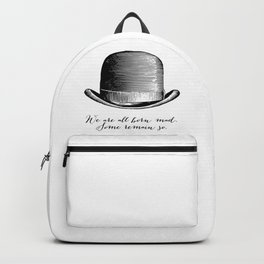 Waiting for Godot - We Are All Born Mad Backpack
