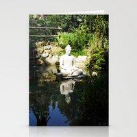 karma Stationery Cards featuring KARMA by Ylenia Pizzetti